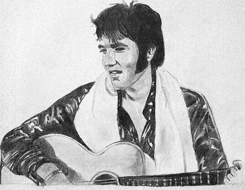 Elvis Presley by g1adina87